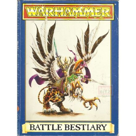 Warhammer Battle Bestiary 4th edition (1992)